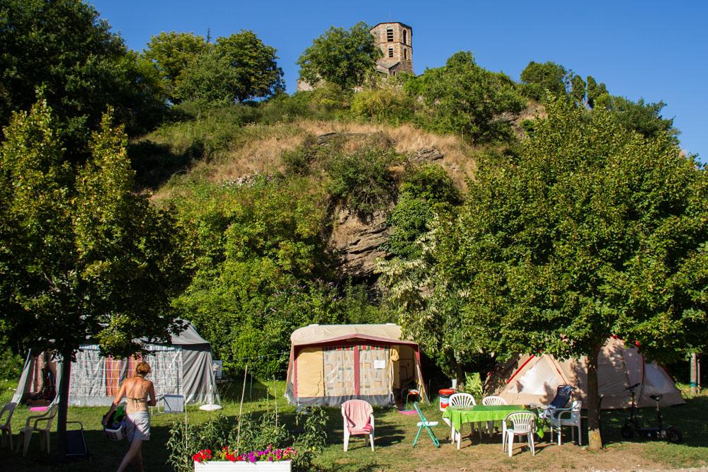 Camping de charme en sud aveyron avec piscine et rivi re for Camping aveyron avec piscine