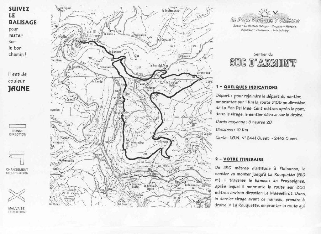Randonnée du Suc D'armont - Sud Aveyron